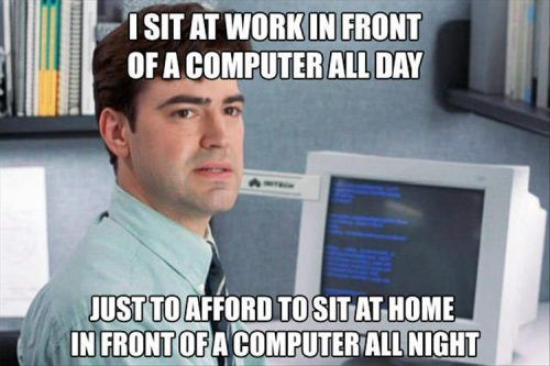 28 Memes Everyone Who Works In An Office Will Understand Work Humor Funny Words Just For Laughs