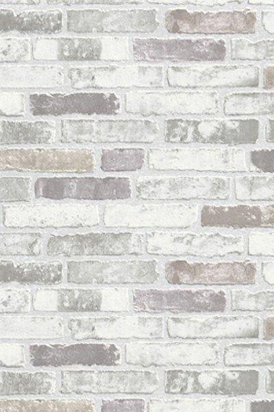 Gray White Brick Wallpaper White Brick Wallpaper Faux Brick