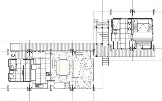 Bamboo vacation home casa atrevida home floor plans and - Bamboo house design and floor plan ...