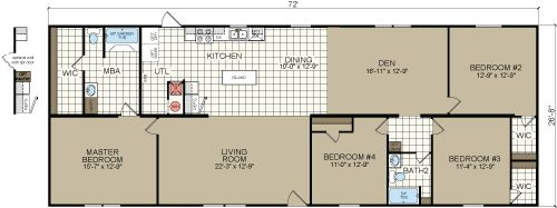 4 bedroom double wide. The Marlin Double Wide home has 4 bedrooms  2 bathrooms and 1920sqft of wide open space If you want an floor plan consider the http