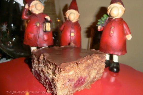 Kuchenkruemel Backblog : Fruchtiger, schneller Lebkuchenkuchen, Lebkuchen v...