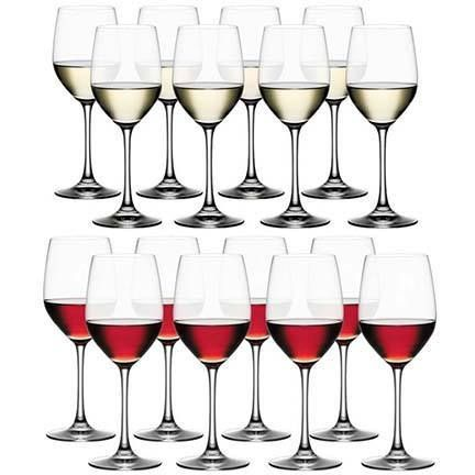 #Spiegelau wine glass sets. Either 8 red wine or 8 white wine glasses perfect for large gatherings