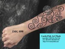 Pictish Warrior Tattoo Design