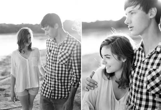 Natural Engagement Photos  This is perfection