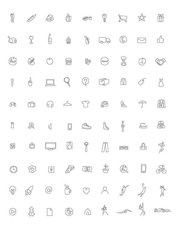 Pin By Yael Bardian On Moodboard One Line Tattoo Instagram Highlight Icons Instagram Icons