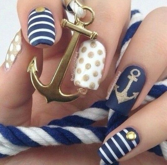 Anchor nails never get old! :)