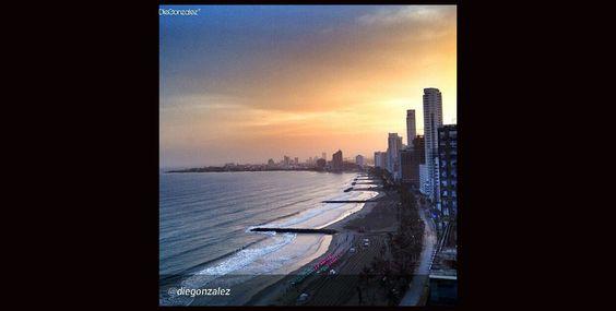 #MaravillasDeColombia. Las playas de un país con dos océanos. Foto de @Diego Avila Gonzalez