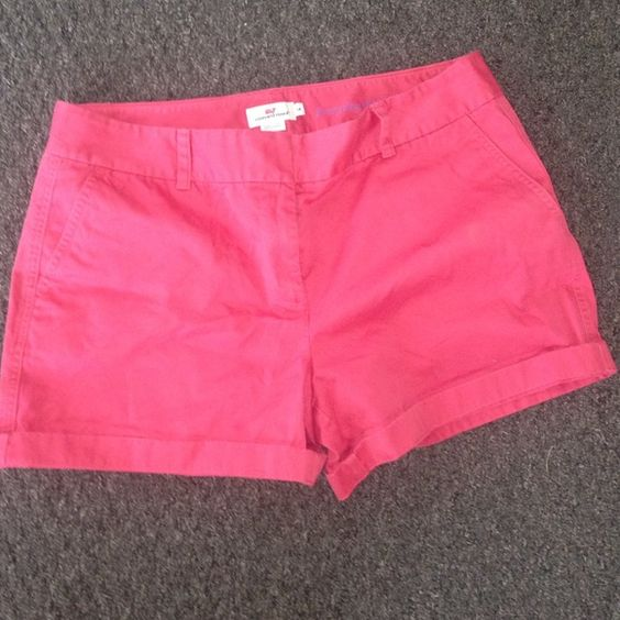 Vineyard Vines shorts Vineyard Vines shorts. More of a salmon color than the pink in the pictures Vineyard Vines Shorts