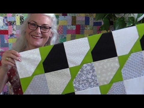 A Modern Quick And Easy Quit Pattern Youtube Quilt Patterns Easy Quilt Tutorials Quilts