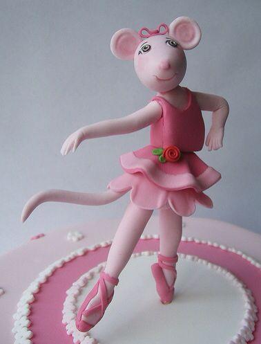 Angelina Ballerina All About Sugar Art