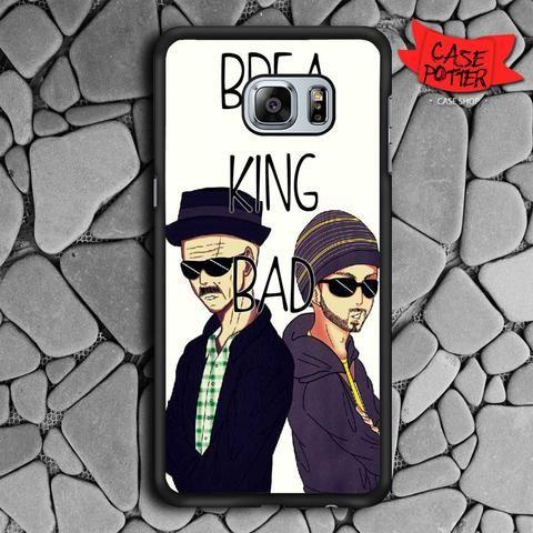 Art Breaking Bad Heisenberg And Jesse Samsung Galaxy S6 Edge Plus Black Case