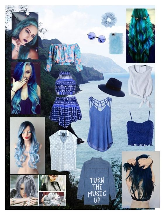 """Monochrome Masterpiece #3 - Deep Blue Sea"" by jbjb2213 ❤ liked on Polyvore"