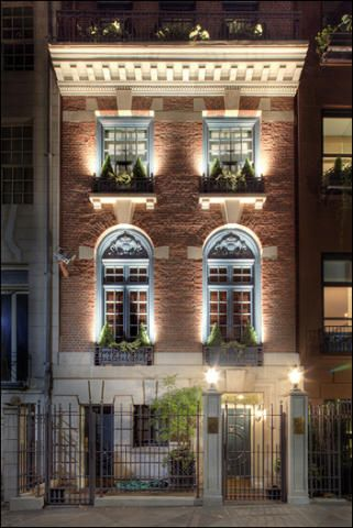 Townhouse upper east side and east side on pinterest for Townhouses for sale in manhattan ny