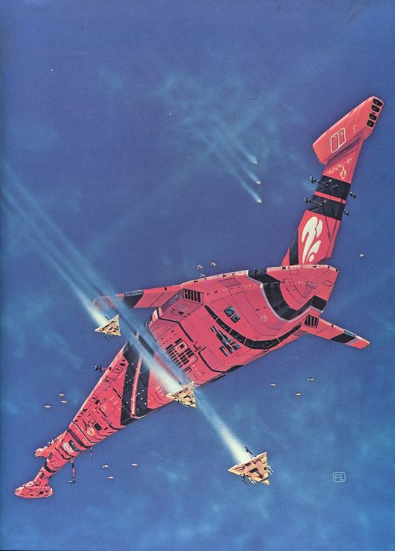 Galactic Encounters /Star Quest 4, Peter Elson.