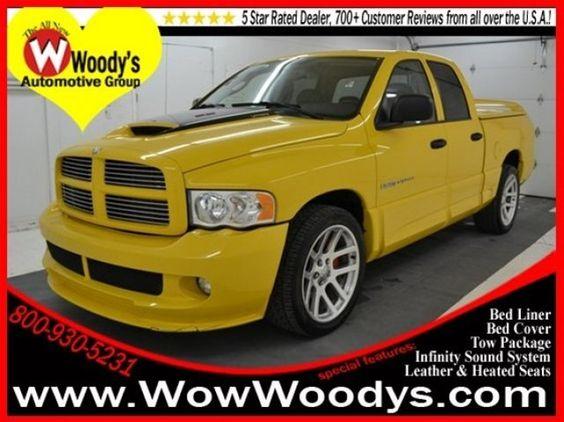 2005 Dodge Ram 1500, Yellow $26,872