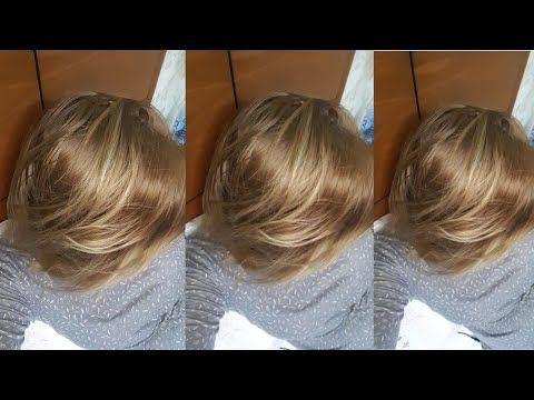 ديري هذا لميلونج سحري فوق شعر كحل وتحصلي على عسلي فاتح جدا مثل الصورة تماما لاكولاغ هبال تبدلك كامل Youtube Hair Color Hair Styles Long Hair Styles
