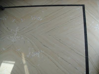 Our Katni Marble flooring sample