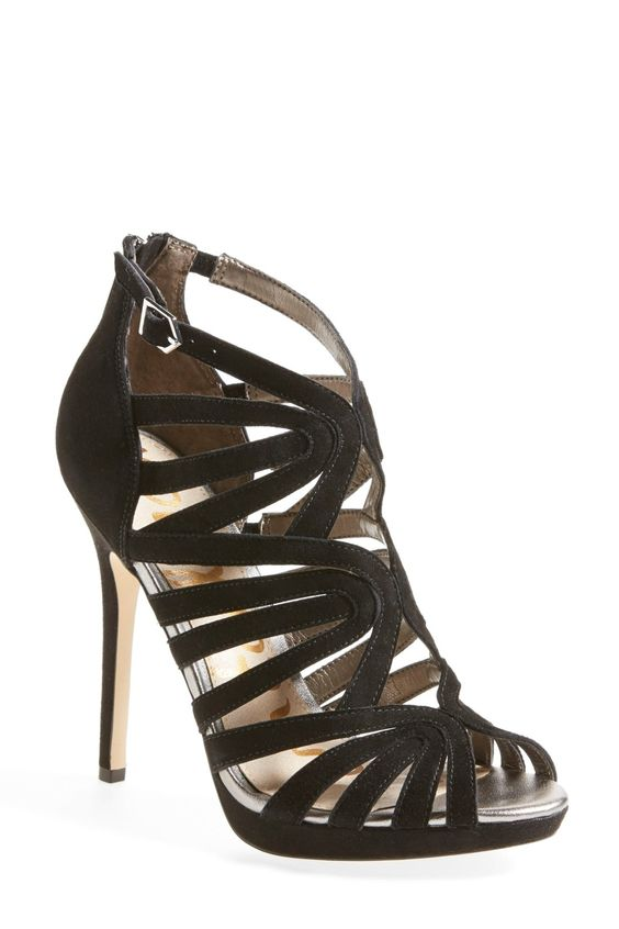 'Eve' Cage Sandal (Women) by Sam Edelman on @nordstrom_rack