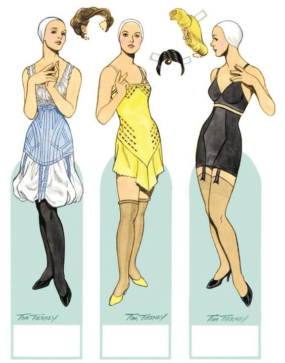 Vintage paper dolls from Dover
