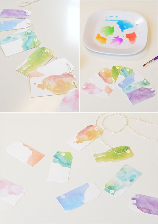 free watercolor tags for the holidays, birthdays or just because. http://www.weddingchicks.com/2014/12/10/free-holiday-gift-tags/
