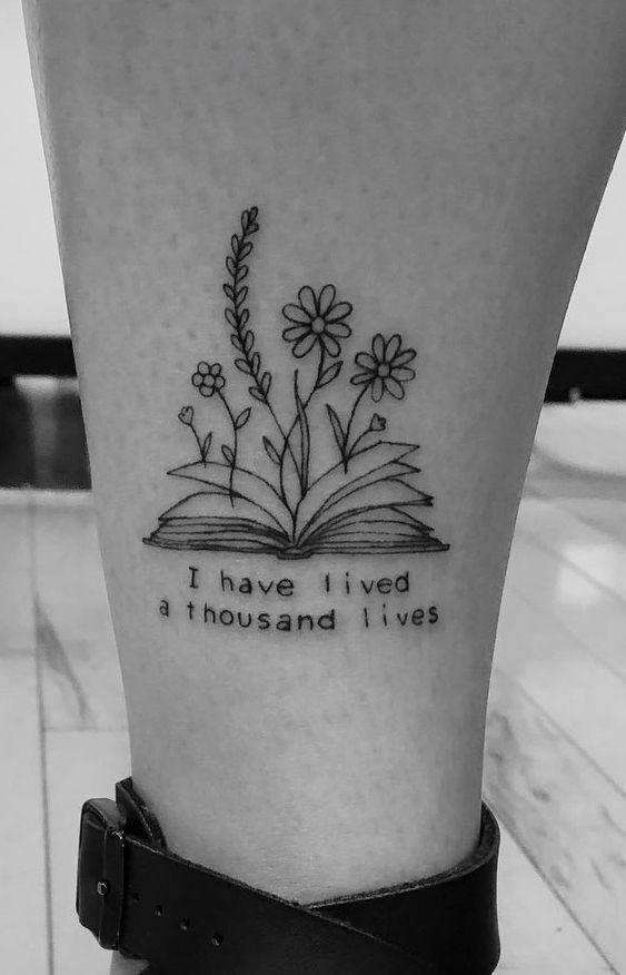 12 Tiny Tattoo Ideas In 2020 Tattoos For Lovers Book Tattoo Tattoos
