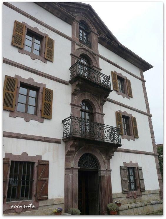 Urdazubi-Urdax. Casa Indianoa Baita, construida por un indiano en 1824