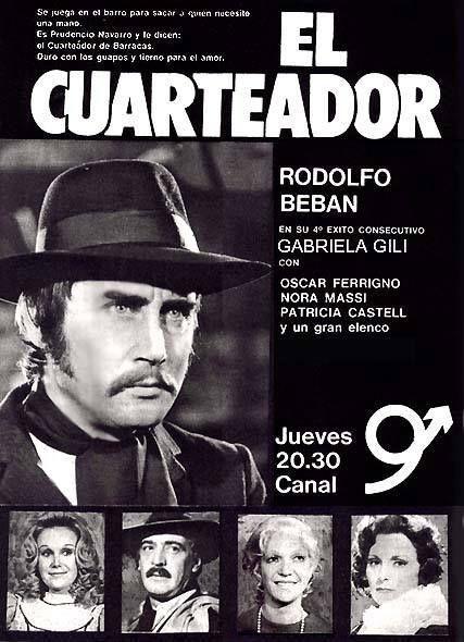 Publicidad programación CANAL 9, Buenos Aires, década del 70.