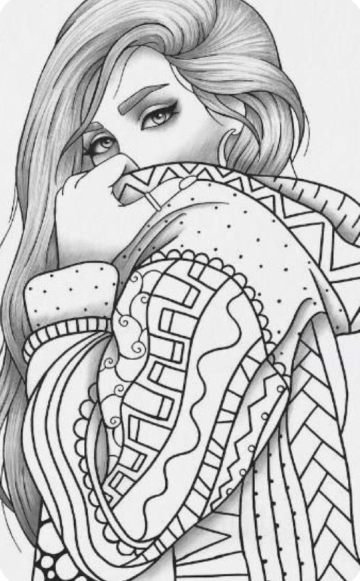 Pin De Patricia En Munequitas Dibujos Para Pintar Paisajes