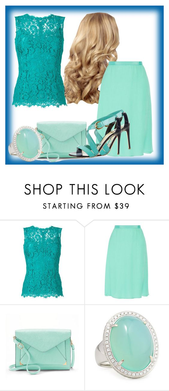 """#1#"" by rosaazulvioleta ❤ liked on Polyvore featuring beauty, Dolce&Gabbana, Oscar de la Renta, Apt. 9, Rina Limor and Rupert Sanderson"