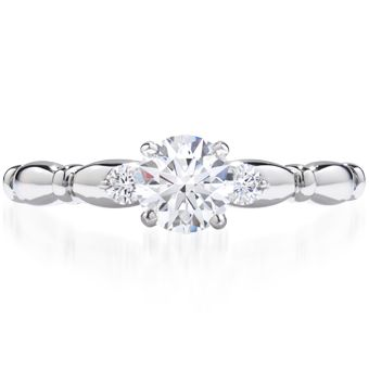 Fairy Tale Engagement Ring - Hearts on Fire