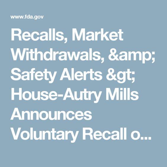 Image result for Home SafetyRecalls, Market Withdrawals, & Safety Alerts Recalls, Market Withdrawals, & Safety Alerts