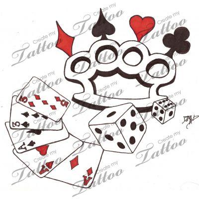 Dice Tattoos
