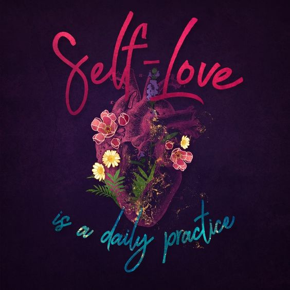 "Kelly-ann Maddox Collection :: Self-love (illustrated) Comforters by Jenny Lloyd: Pictures - Queen: 88"" x 88"""