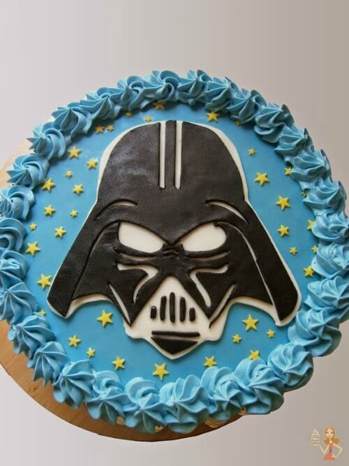 5 Easy Ideas For Amazing Star Wars Cakes With Images Darth