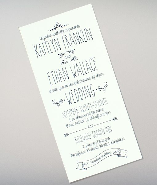 Easy Wedding Invitation Templates Matik for