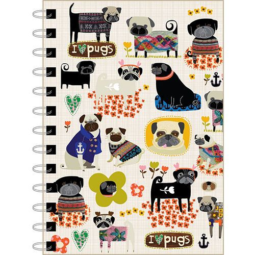 Pug Note Pads | Pug Notepads and Journals | PugAddict.com