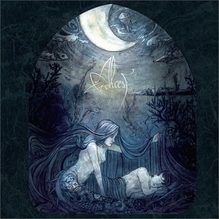 """The legendary """"Ecailles de Lune"""" cover art, by Fursy Teyssyer. Music by Alcest, a post-metal genius. A must-have."""