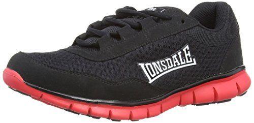 Lonsdale Southwick M, Herren Sneaker Low-Tops, schwarz/red, 46 EU / 12 UK - http://on-line-kaufen.de/lonsdale/46-eu-12-uk-lonsdale-southwick-m-herren-sneaker-low