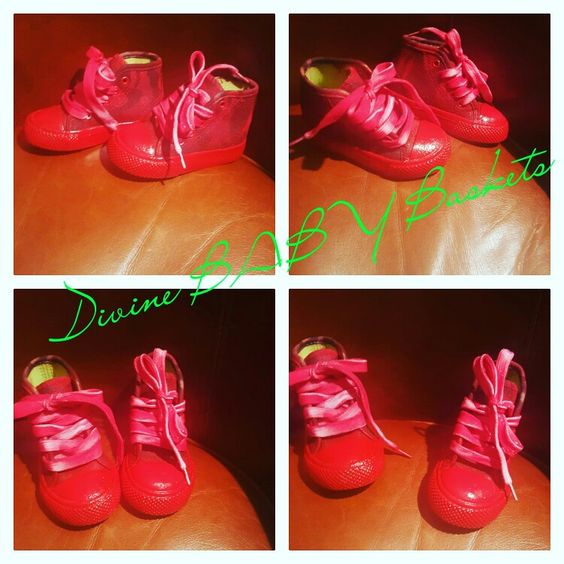 Shoes i custom made Divine BABY Baskets