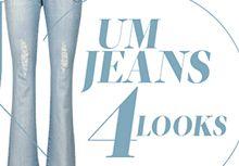 1 Jeans, 4 Looks