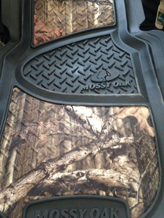 mossy oak camo floor mats for my jeep! | its a jeep thing