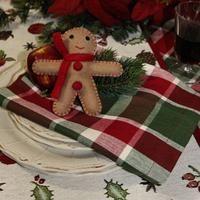 tolle Tischdeko für die Adventszeit