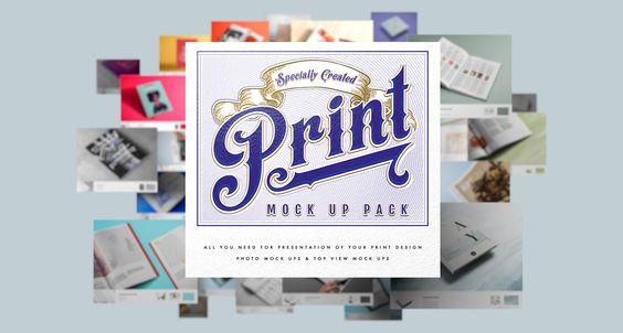 Print Mock Up Pack on Behance