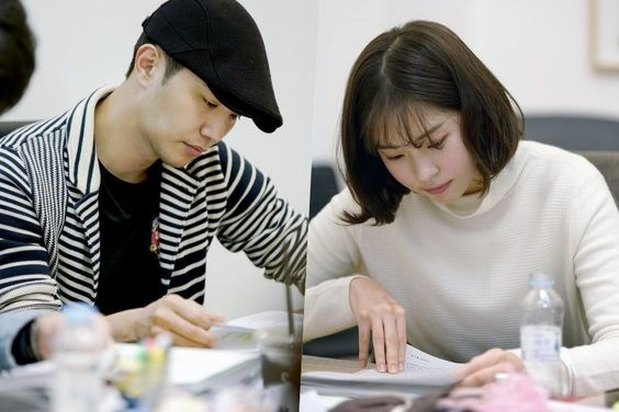 Jin Goo And Seo Eun Soo Impress At Script Reading For New Legal Comedy