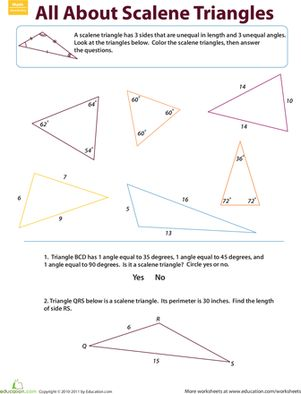 Worksheets Isosceles Triangles Worksheet isosceles triangle worksheet theorems five pack math