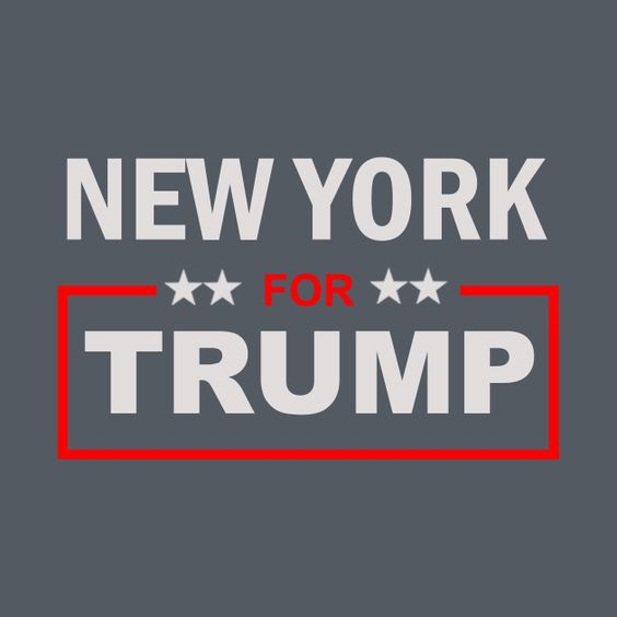 Awesome 'New+York+for+Trump' design on TeePublic!