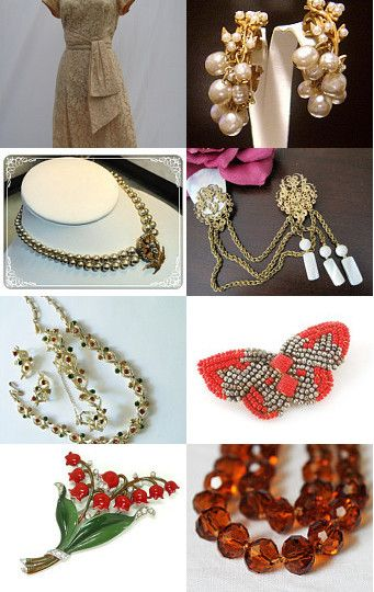 --Pinned with TreasuryPin.com  #TeamLove #vintage #jewelry #Fashion #etsyretwt