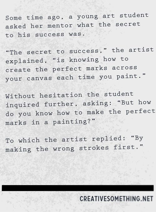 Wrong Strokes First: