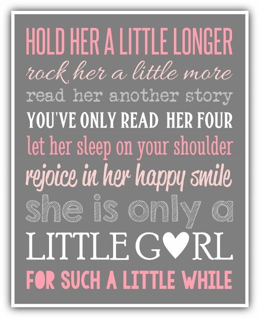 HOLD HER a little longer print or Canvas custom by ThePrintsCess