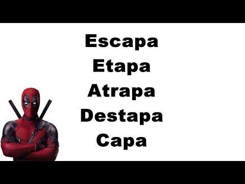26 Ejercicio Para Improvisar Rap Rimas Con Terminaciones Base De Rap Con Palabras Youtube Rap Palabras De Rap Palabras